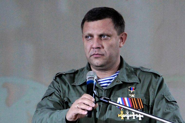 """Захарченко объявил о создании государства """"Малороссия"""""""