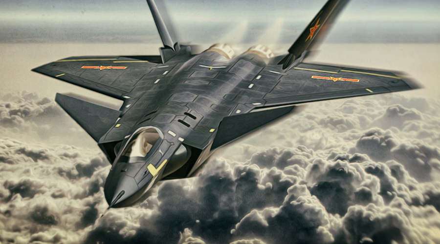 J-20 vs F-22: Американский ниндзя против китайского тигра