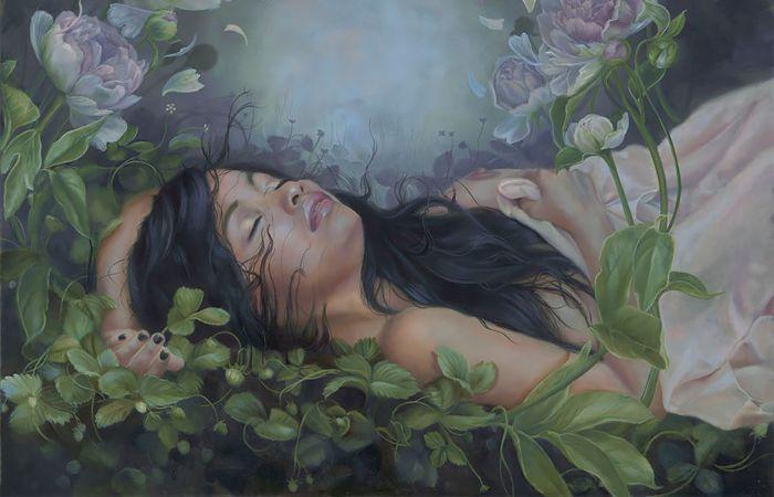 Чувственность и искушение: мечтательные работы Кари-Лиз Александр