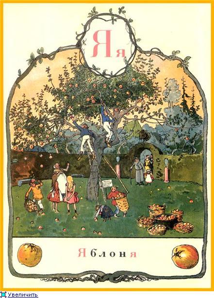 Азбука въ картинахъ  Александра Бенуа