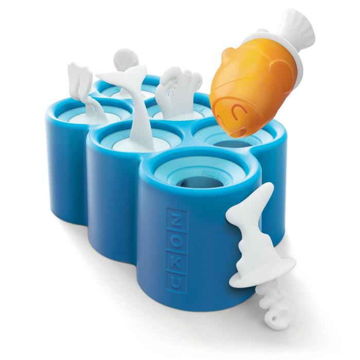Формы для мороженого и фруктового льда. | Фото: The Homewares Company.