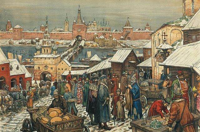Какой увидели Россию первые гости из Европы?