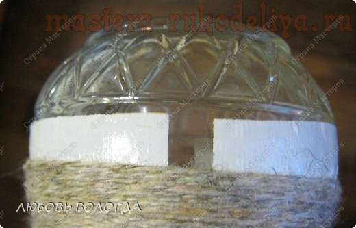 Мастер-класс: Маскировка выпуклых надписей на бутылке