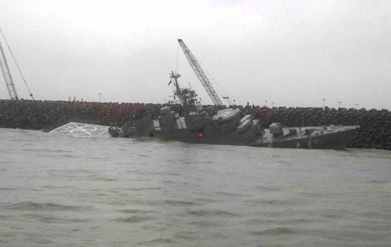 Иранский флот может потерять фрегат Damavand
