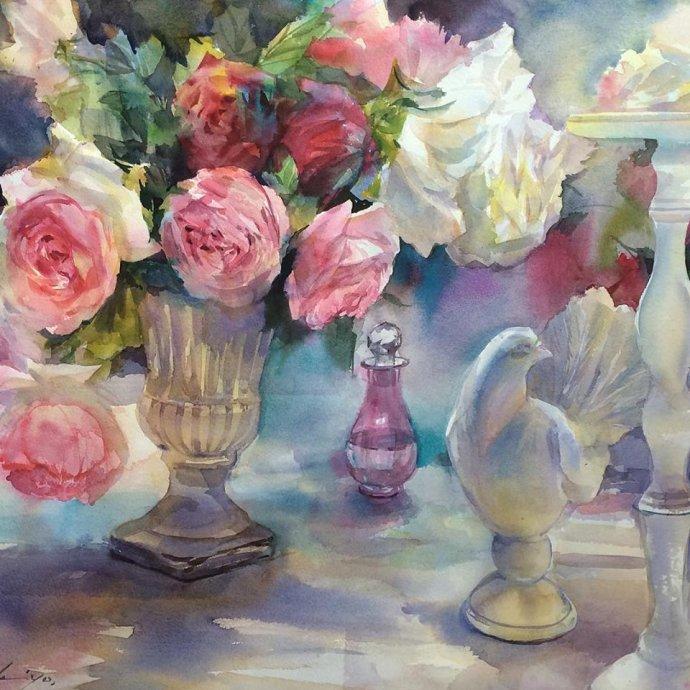 «Таинственен, красив цветочный мир…» Японская художница Tsukiyo Ono