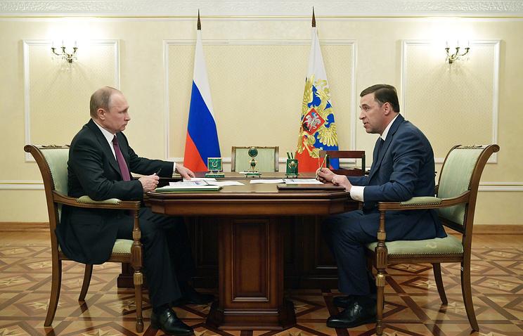 Путин высоко оценил оперативность в решении вопроса рабочих из Нижнего Тагила