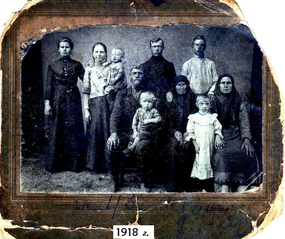 ПРОСТО НЕСКОЛЬКО СЕМЕЙНЫХ ФОТО из СССР с 1918 по 1985 годы. Фото выполнены сельскими и городскими фотографами.