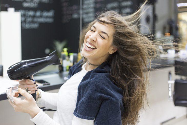 История о том, как я в парикмахерской опозорилась