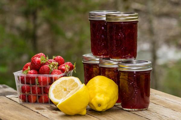 Варенье из клубники с лимоном