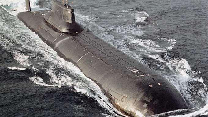 Путинская атомная подлодка н…