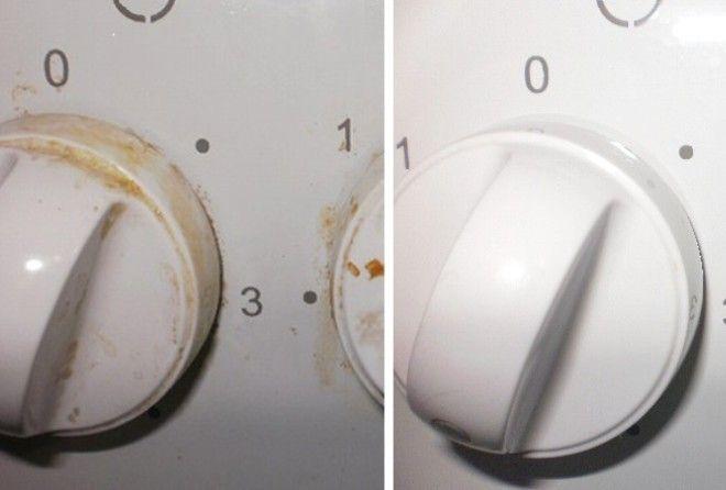 Как очистить ручки плиты
