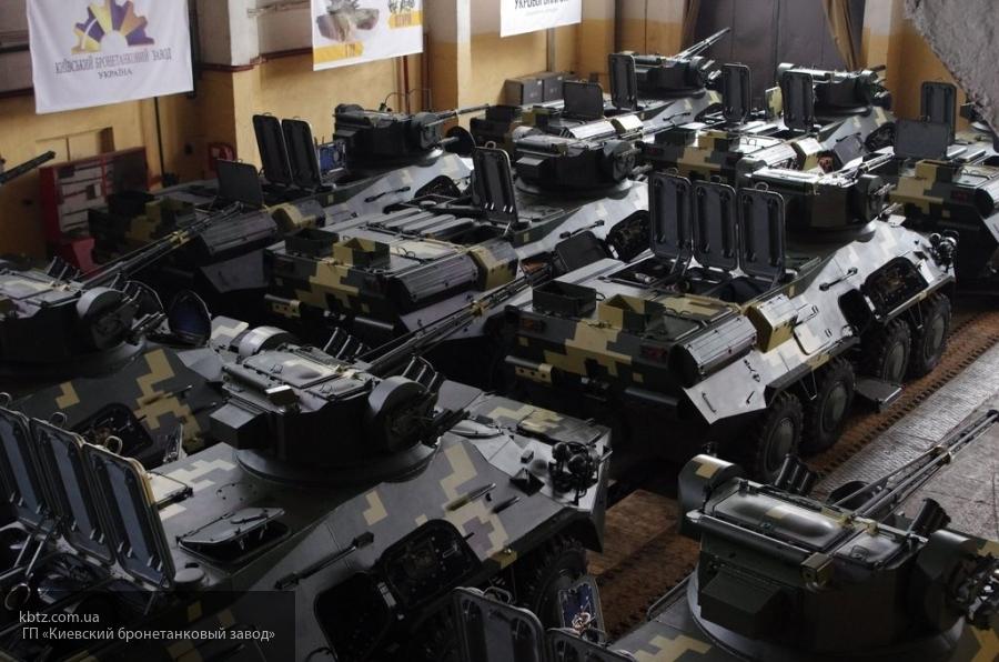 Новый украинский БТР-3ДА развалится, не добравшись до полигона