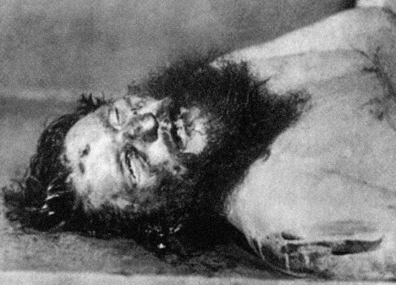 Мертвый Григорий Распутин. Фото