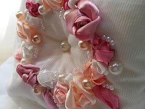 МК — изготовление свадебной подушечки для колец