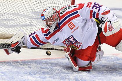 Российские хоккеисты забросили чехам три безответных шайбы в первом периоде