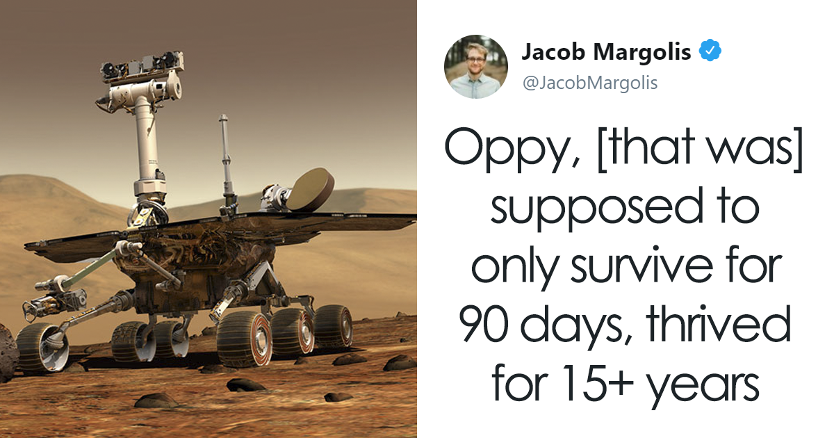 After 15 Years Of Service, NASA's Mars Rover Opportunity Has Died And People Say Their Final Goodbyes