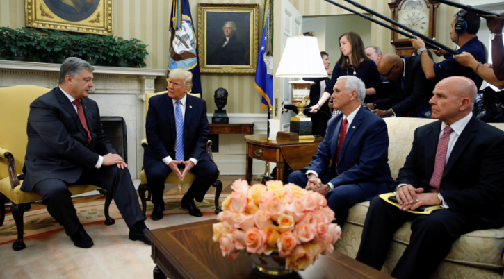 Встреча Трампа и Порошенко