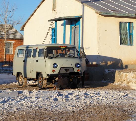 Тайга и снег - не беда