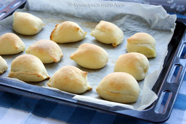 Пирожки-малышки «слоеные» скороспелые... из чудо-теста!