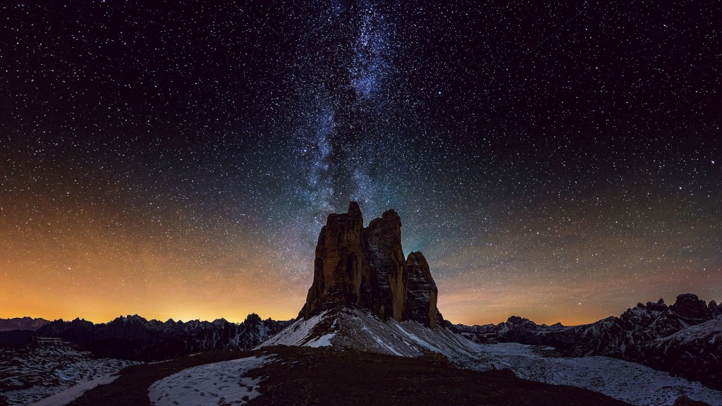 звездное небо обои на рабочий стол 1920х1080 № 358915 загрузить