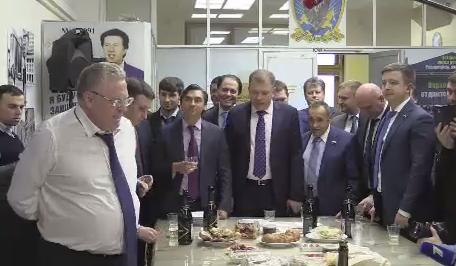 Жириновский отметил победу Трампа 132 бутылками шампанского