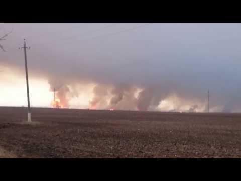 ЛНР: Пожар на военном складе…