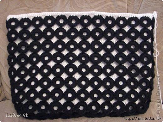 Сумочка из колец с бисером. Вязание крючком без отрыва ниток (20) (520x390, 161Kb)