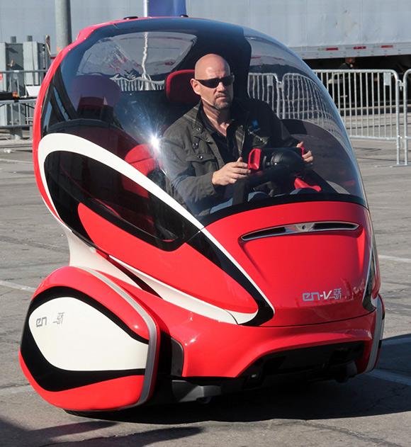 Автомобиль будущего.