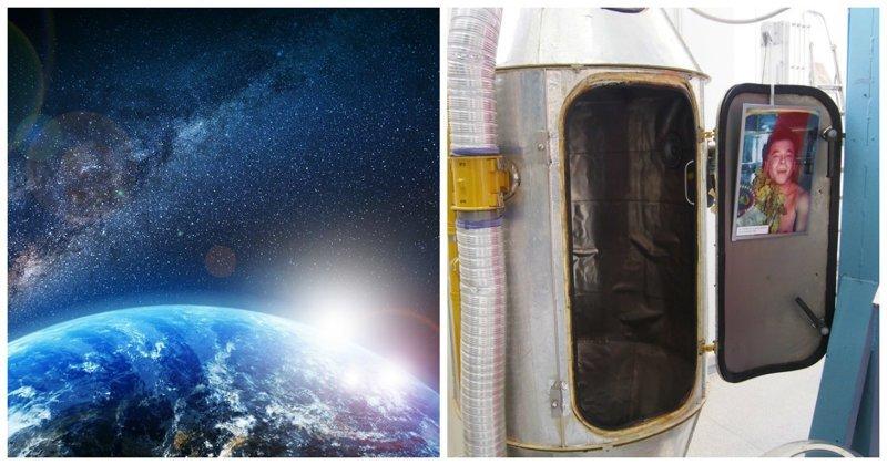 В России сконструируют сауну и стиральную машинку для космонавтов ynews, НИИхиммаш, душ, космос, разработки