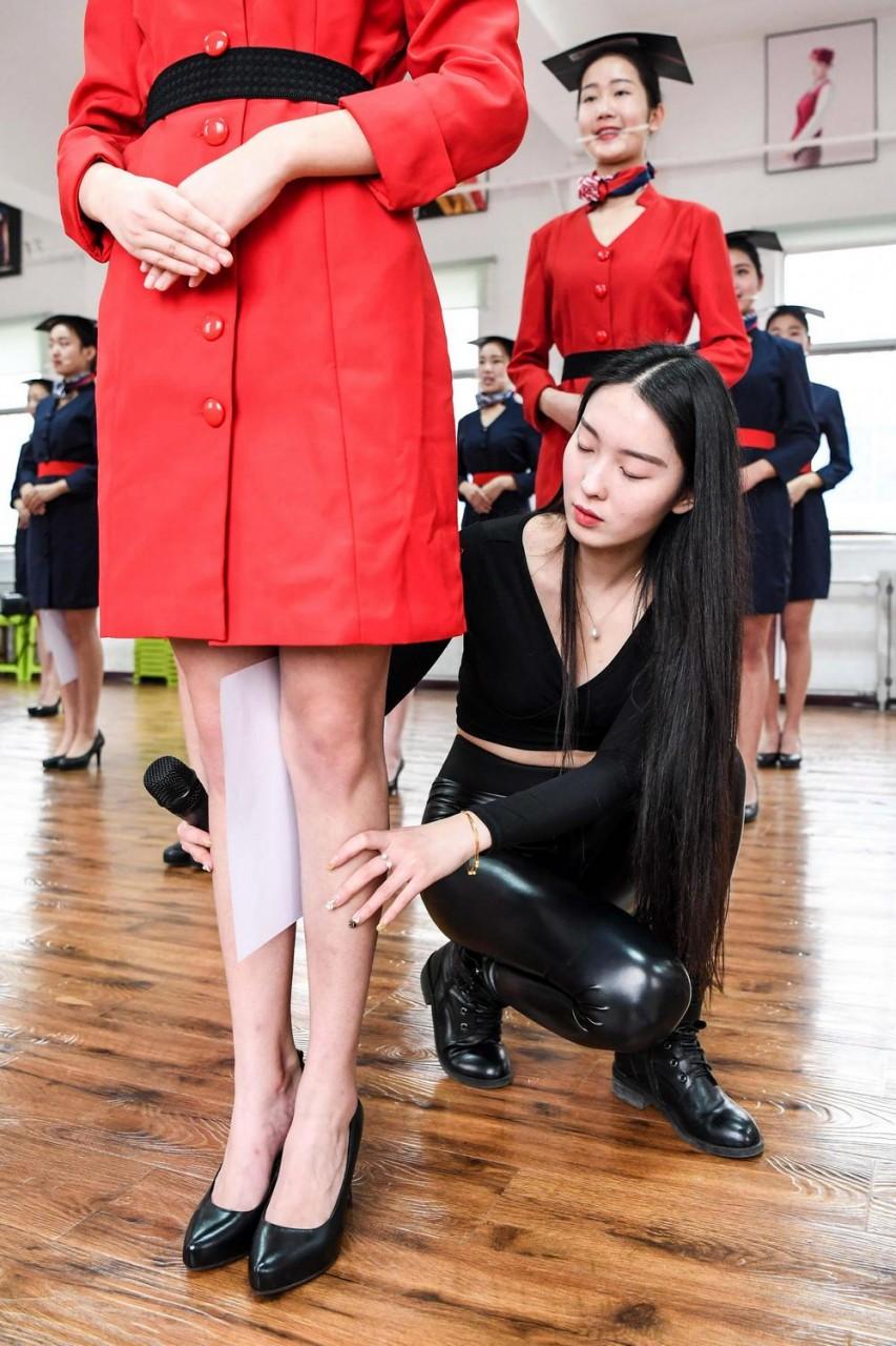 Обучение стюардесс в Китае
