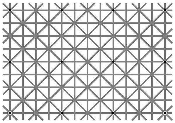 Сколько точек Вы видите?