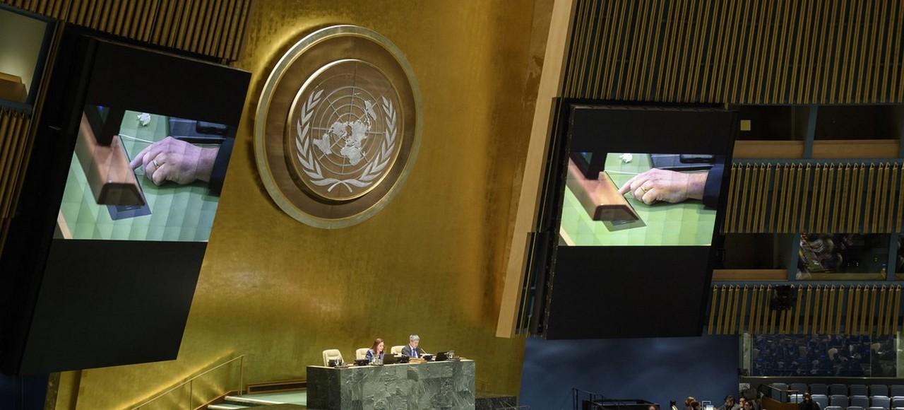 Генассамблея ООН выработала очередной рулон туалетной бумаги по «крымскому вопросу»