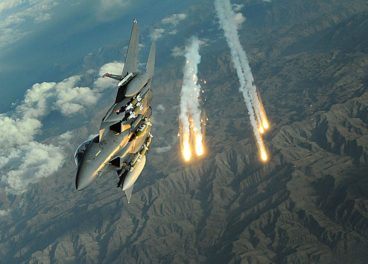 Антитеррористическая коалиция нанесла подлый удар по проправительственным войскам Сирии