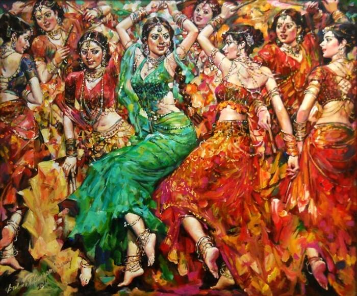 женские образы танец Subrata Gangopadhyay - 01