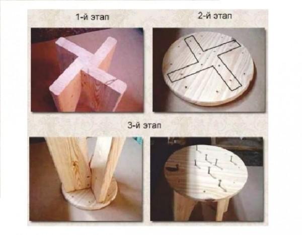 Делаем стул своими руками из дерева - Jiminy.ru