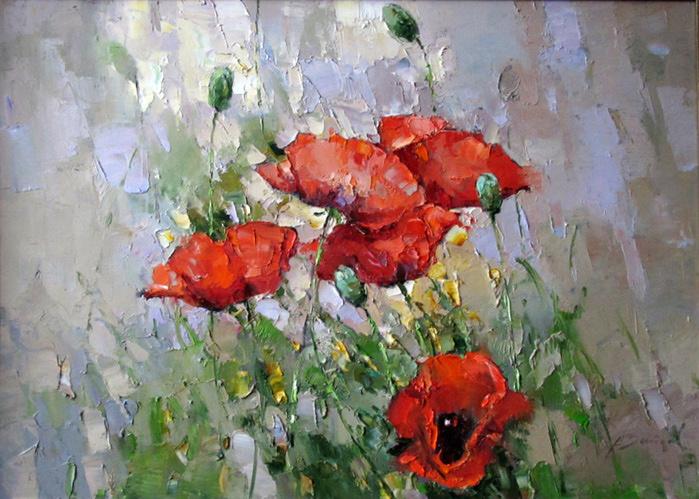 """""""Цветы чисты, красивы и невинны...""""  Творчество Алексея Зайцева"""