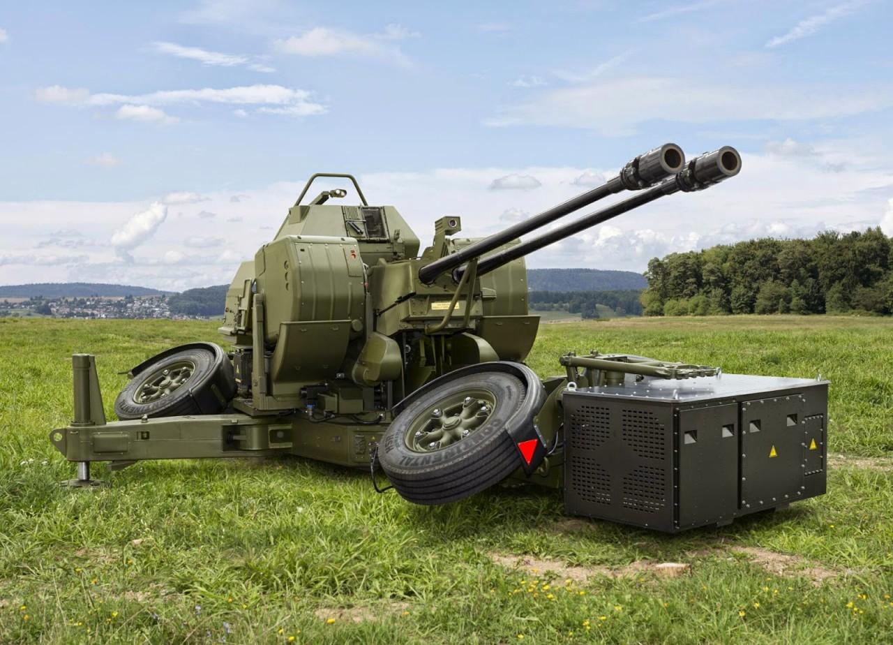 Зенитная артиллерийская установка Oerlikon GDF-009