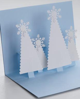 Идеи открытки на новый год своими руками