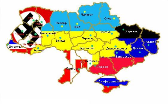 Украинские радикалы вынудят ЕС «откусить» часть Украины
