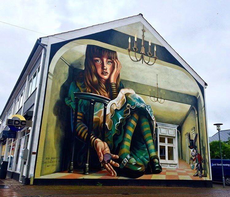 20 крутых работ уличных художников со всего мира в мире, граффити, интересное, искусство, подборка, стрит-арт, уличное искусство