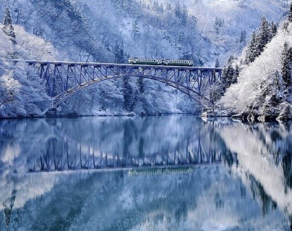 Волшебные зимние пейзажи (30 фото)