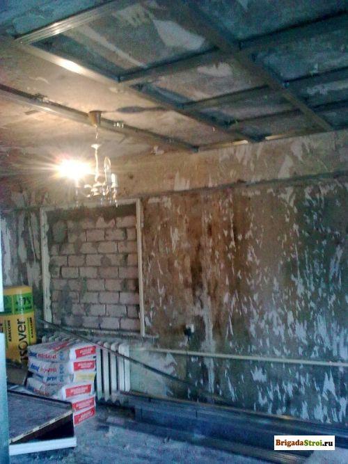 Ремонт квартиры после пожара фото