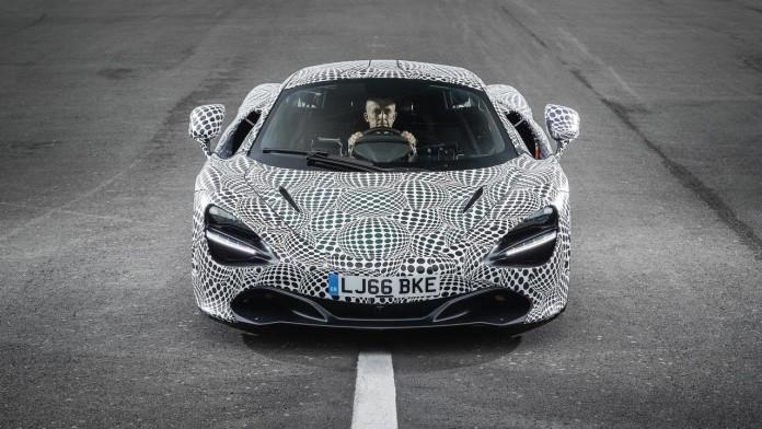 Самый быстрый автомобиль в истории: McLaren показал трехместный суперкар. Фото