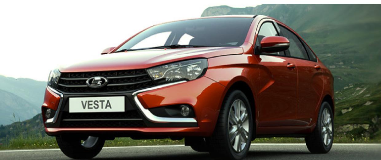 Самым популярным автомобилем С-класса в России стала LADA Vesta