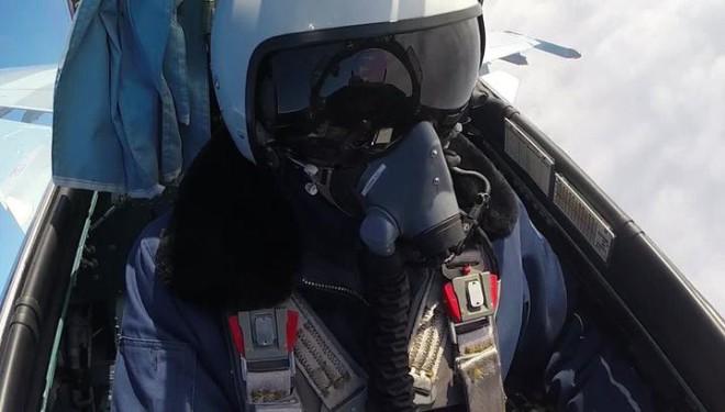 Воздушный бой из кабины пилота: уникальное видео российских ВВС