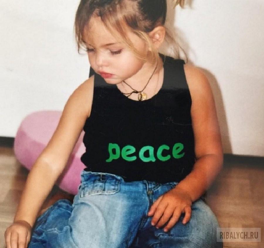 Тилан Блондо: самая красивая девочка в мире
