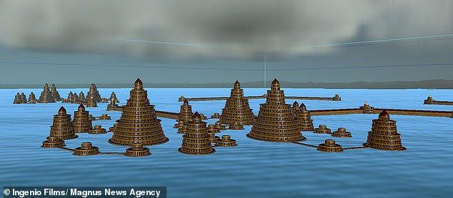 Затопленные древние руины у берегов Испании могут быть останками гавани Атлантиды -10 фото-