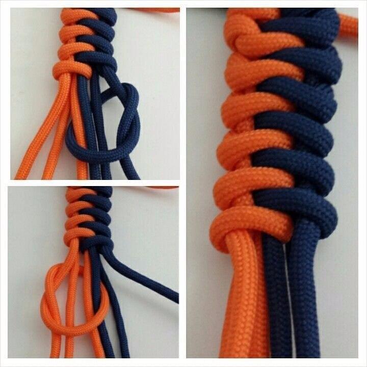 Плетем из веревки