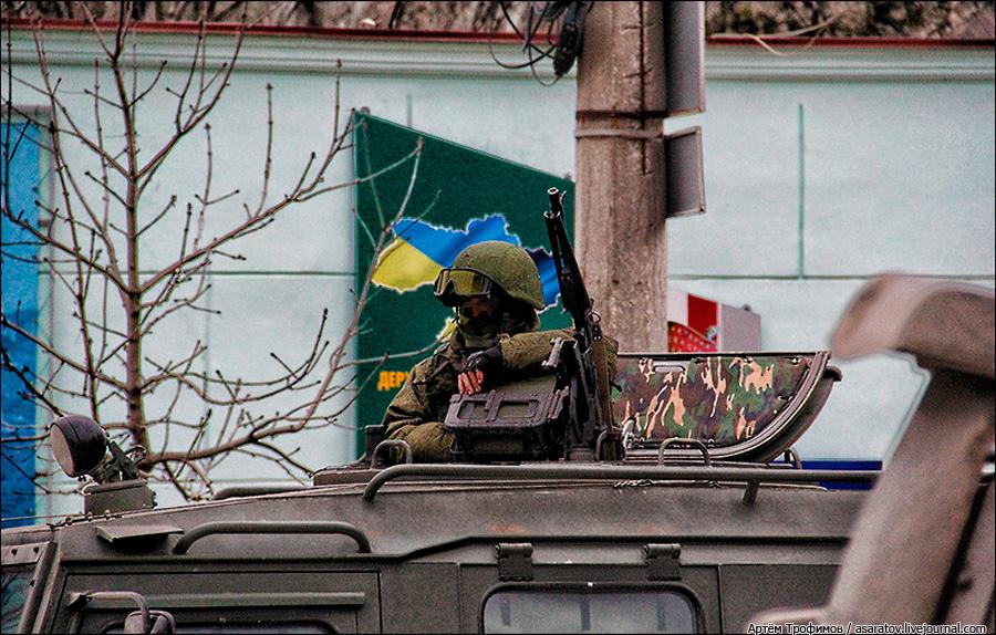 Почему Киев не воюет в Крыму? ...