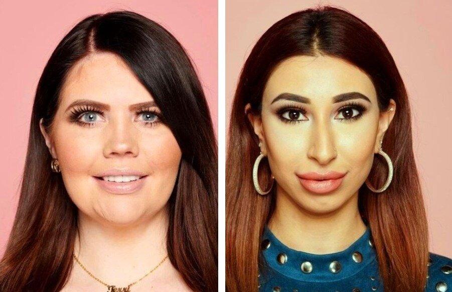 2 англичанки, которые обожали краситься (https://www.thesun.co.uk)